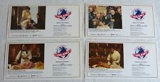 Set of 4 - 9th Congress of Anesthesia History in Stamps Cancel 1988 Medicine