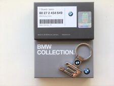 BMW 3 SERIES GENUINE CHROME KEYRING KEY CHAIN PENDANT 80272454649