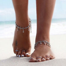 Gypsy Indian Charm Ankle Bracelet Bead Anklet Pendant Foot Chain Belly Dance U