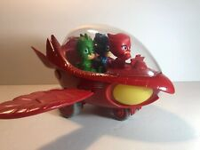 PJ Masks Deluxe Vehicle Owl Glider Owlette Mobile Vehicle With Figures