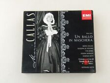 MARIA CALLAS - UN BALLO IN MASCHERA - VERDI - BOX 2 CD EMI CLASSICS TEATRO SCALA