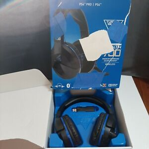 Turtle Beach Stealth 700 Black/Blue Over Ear Gaming Headset - PS4 and PS4 Pro