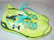 Mens Under Armour Charge RC 2 1235671-317 Yellow Marathon Running Shoes! Size 13
