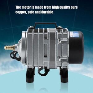18W 38L/min Réservoir d'oxygène Pompe à Air Aquarium Electromagnétique EU
