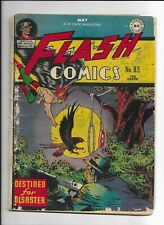 FLASH COMICS #83 ==> FA/GD GOLDEN AGE HAWKMAN COVER DC COMICS 1947
