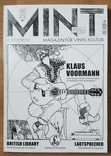 MINT Magazin für Vinyl - Kultur Nr. 26 02/19 Klaus Voormann