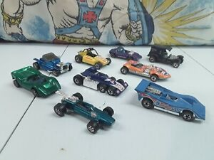 Vintage Hot Wheels Redline Lot McLaren Silhouette Twinmill 1969 Cars