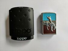 More details for zippo lighter 2005 - very rare bronco rodeo cowboy equestrian- new sealed in box