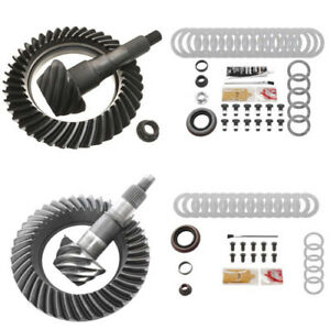 3.55 RING AND PINION GEARS & INSTALL KIT PACKAGE- FORD 8.8 IFS FRONT / 9.75 REAR