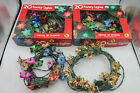 VTG Christmas Tree Foil And Plastic Light Reflectors Lot Of 80 With Orig Boxes