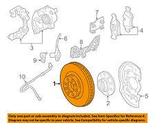 Saturn GM OEM 01-05 L300 Front Brake-Disc Rotor 21019788