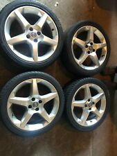 "Vauxhall 17"" Inch Penta 4-Stud Alloy Wheels & With Tyres, Corsa/Tigra/Astra"