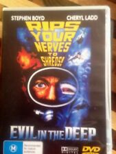 EVIL IN THE DEEP DVD * USED *