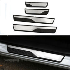 FIT FOR HONDA CR-V CRV 2017 2018 Stainless Steel Door Sill Scuff Plate