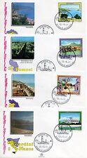 Repubblica Italiana 1989 FDC Filagrano Serie Turistica