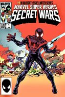 🚨 SECRET WARS #1 2015 HeroesCon Zeck & Beatty Miles Morales Ultimate Fallout 4