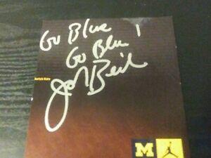 John Beilein Autograph