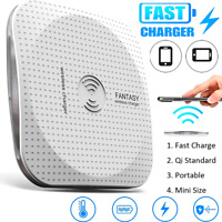 NEW 10W Qi Wireless Fast Charger Charging Pad Dock for cell Phone iPhone Android