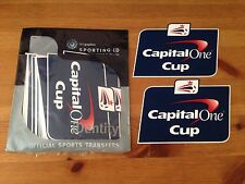 2013-16 Capital One Cup Football PS-Pro Sporting ID Football Badge Patch Set (2pcs)