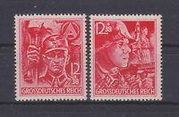 """1945 - III. Reich - Mi. 909/10 A """"Die letzten Marken . . ."""" !!!!"""