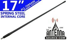 """ALL-TERRAIN 17"""" RUBBER ANTENNA MAST - FITS: 2009-2018 Ford F-150"""