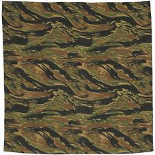 MFH Bandana Coton Tête Écharpe Foulard Chiffon Cravate Mouchoir Tiger Stripe