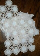 Vintage Crocheted Table Scarf/Runner
