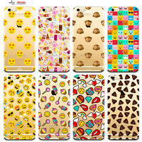 Custodia Cover Design Emoticon Per Apple iPhone 4 4s 5 5s 5c 6 6s 7 Plus SE