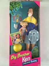 "BARBIE BF'S Ken "" BIG BROTHER "" & baby brother Tommy NRFB 1996"