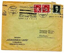 Used Czech, Czechoslovakian Cover Stamps