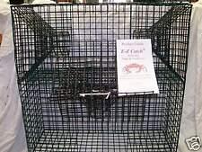 E-Z Catch Green & White Crabs Bait Trap Commercial Grade Made in America # P-602
