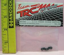 TRC R/C RADIO CONTROL CAR 6286 1/12 TWEEK SCREW SUPPORT PLATE FIBERGLASS PART