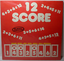 Lp Games 80'S Vtg Board Game 12 Score European Greek Version New Vhtf Rare