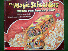 The Magic School Bus: Inside the Human Body Book and 10 Magic School Bus VHS