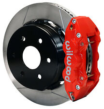 "WILWOOD DISC BRAKE KIT,REAR,00-06 SUBURBAN 1500,AVALANCHE,TAHOE,YUKON,14"",RED"