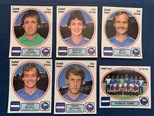 Panini 1982 82 IPSWICH Football Stickers (x11) (Unused)