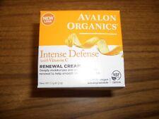 Avalon Organics Intense Defense with Vitamin C Renewal Cream, 2 Oz
