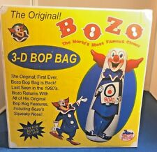 Bozo The Clown 3d Bop Bag