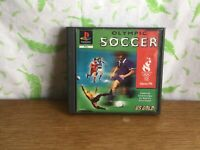 Sony Playstation Game - Olympic Soccer - PS1 PSone - T4