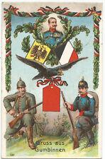 1.. Weltkrieg Gumbinnen Ostpreussen Infanterie Füsilier-Regiment, Kaiser Wilhelm
