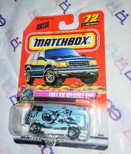 '67 VW DELIVERY VAN  ✰✰  MATCHBOX VOLKSWAGEN TNT ✰✰ #64 VW BUS