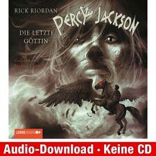 Hörbuch-Download (MP3) ★ Rick Riordan: Percy Jackson, Teil 5: Die letzte Göttin