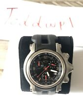 Oakley Holeshot Black Dial on Strap Store Model 100% Authentic