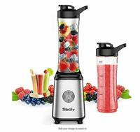 Personal Blender, Sboly Smoothie Blender Single Serve Small Blender for Juice