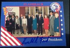 Gerald Ford AUTHENTIC HAND SIGNED sports card President of the United States
