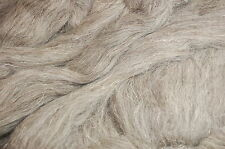 Light grey Herdwick natural wool roving / tops - wet felting and needle felting