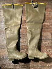 Men's big chief insulated hip boots by Lacrosse. New, but without box.