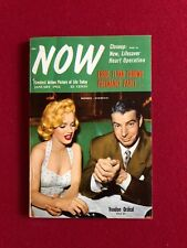 "1954, Marilyn Monroe (Joe D.), ""NOW"" Magazine (No Label) Scarce"