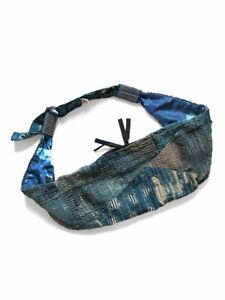 "KAPITAL ""BORO x Transfer Nylon Little Snufkin BAG"" Indigo"