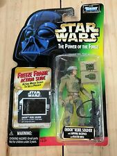 STAR WARS VINTAGE POTF GREEN CARD 1997 ENDOR REBEL SOLDIER FIGURE BNIB RARE